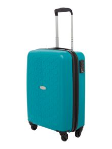 Moblite teal 4 wheel cabin case