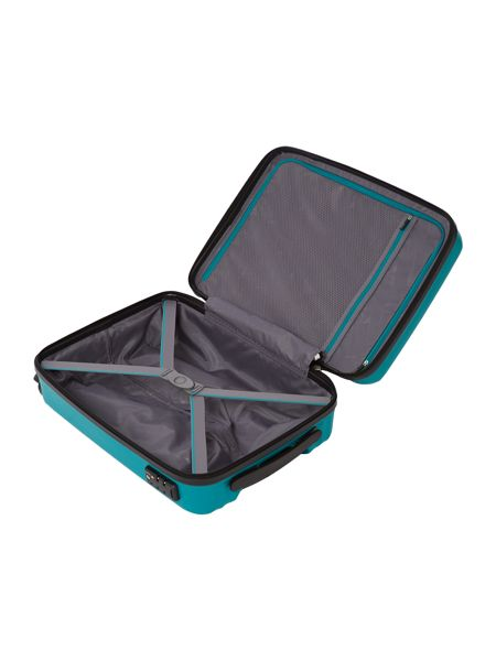 Linea Moblite teal 4 wheel cabin case