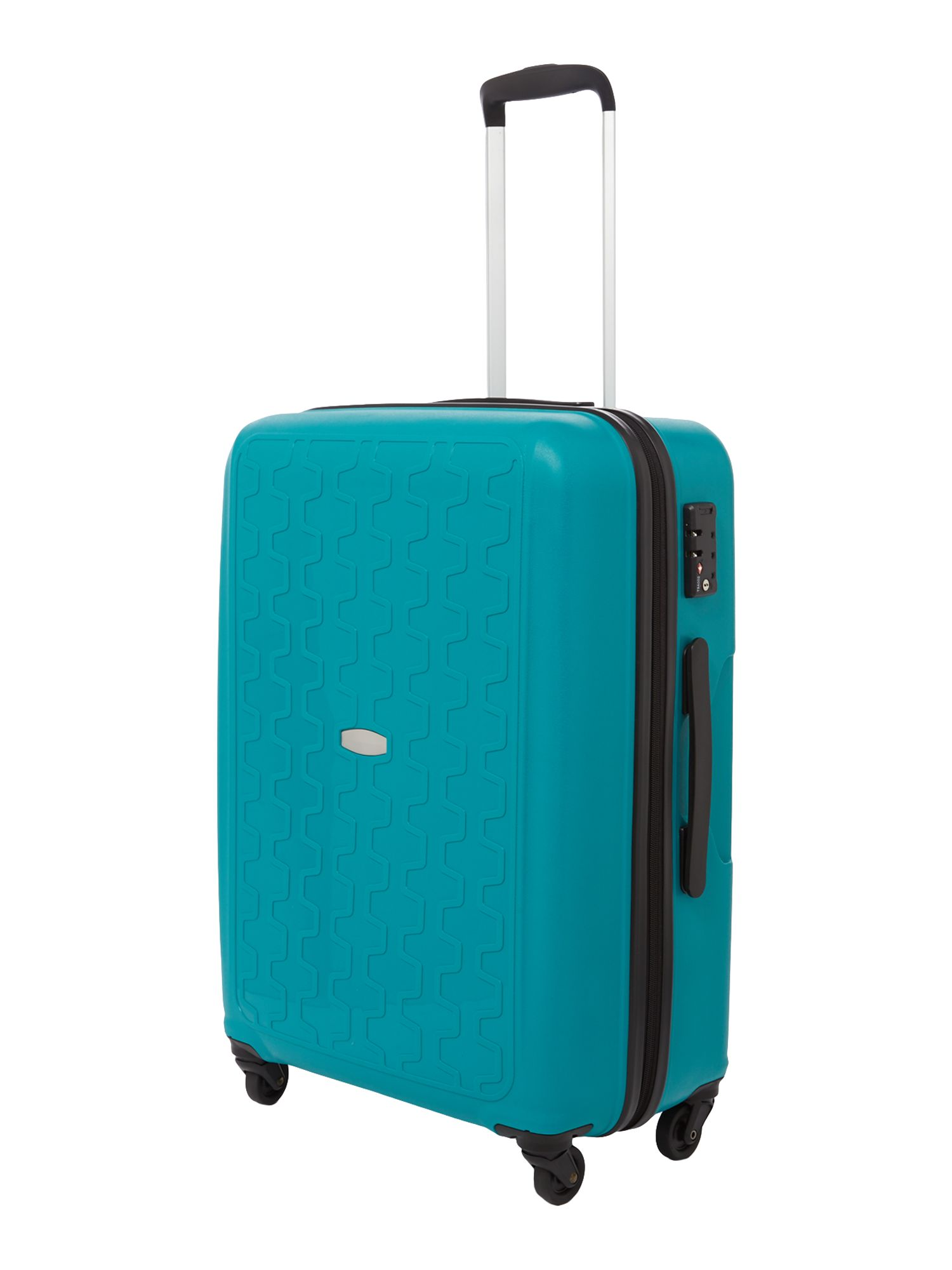 Moblite teal 4 wheel medium case