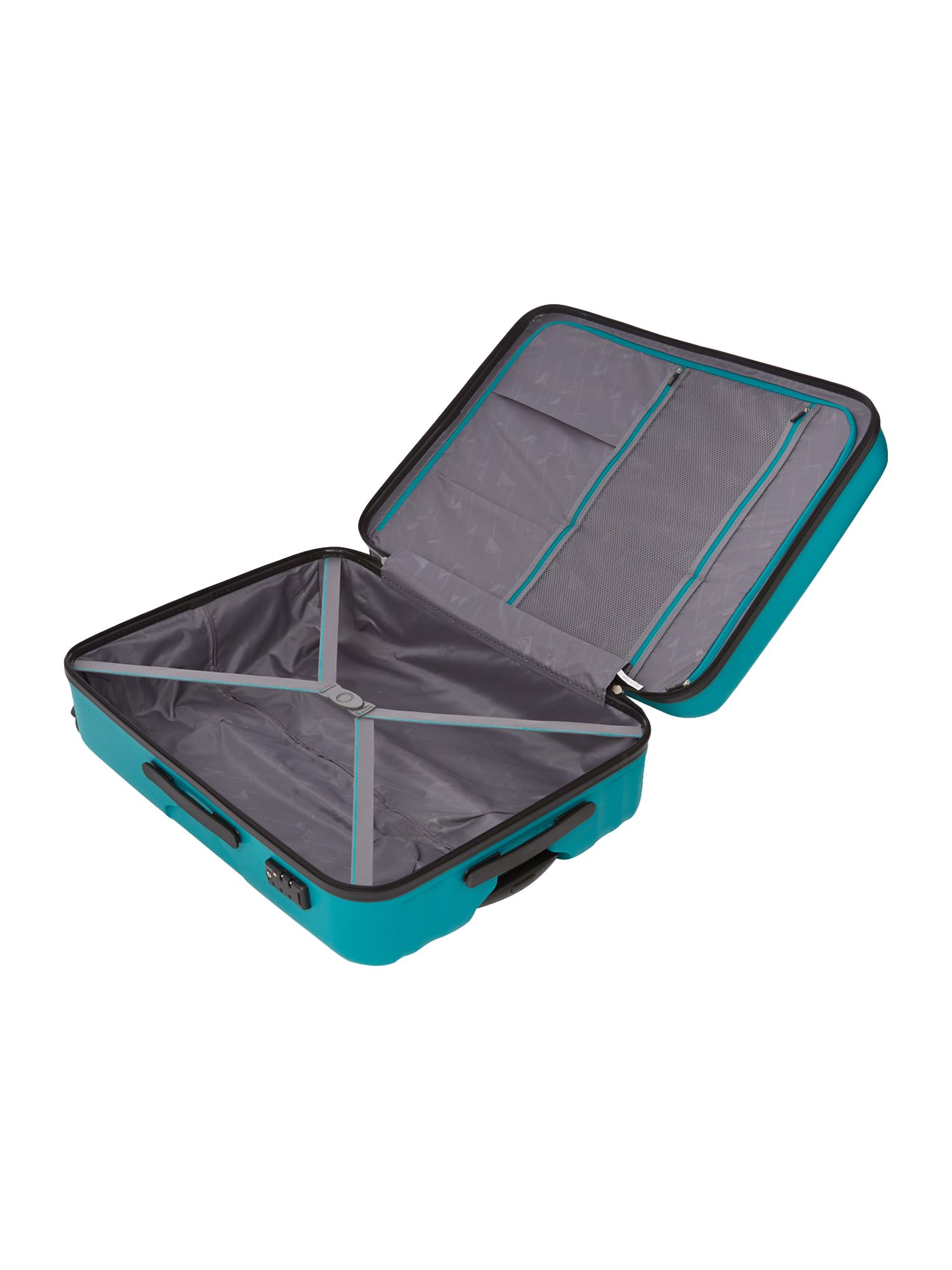Moblite teal 4 wheel large case