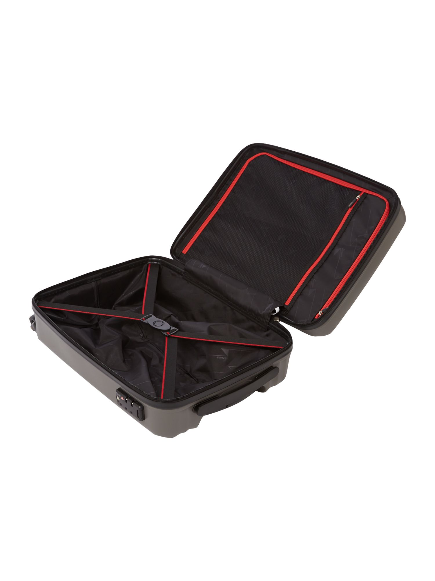 Moblite grey 4 wheel cabin case