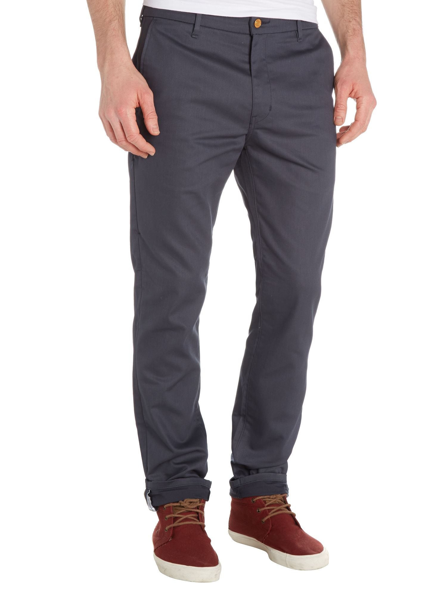 Commuter 508 indian ink tapered trouser