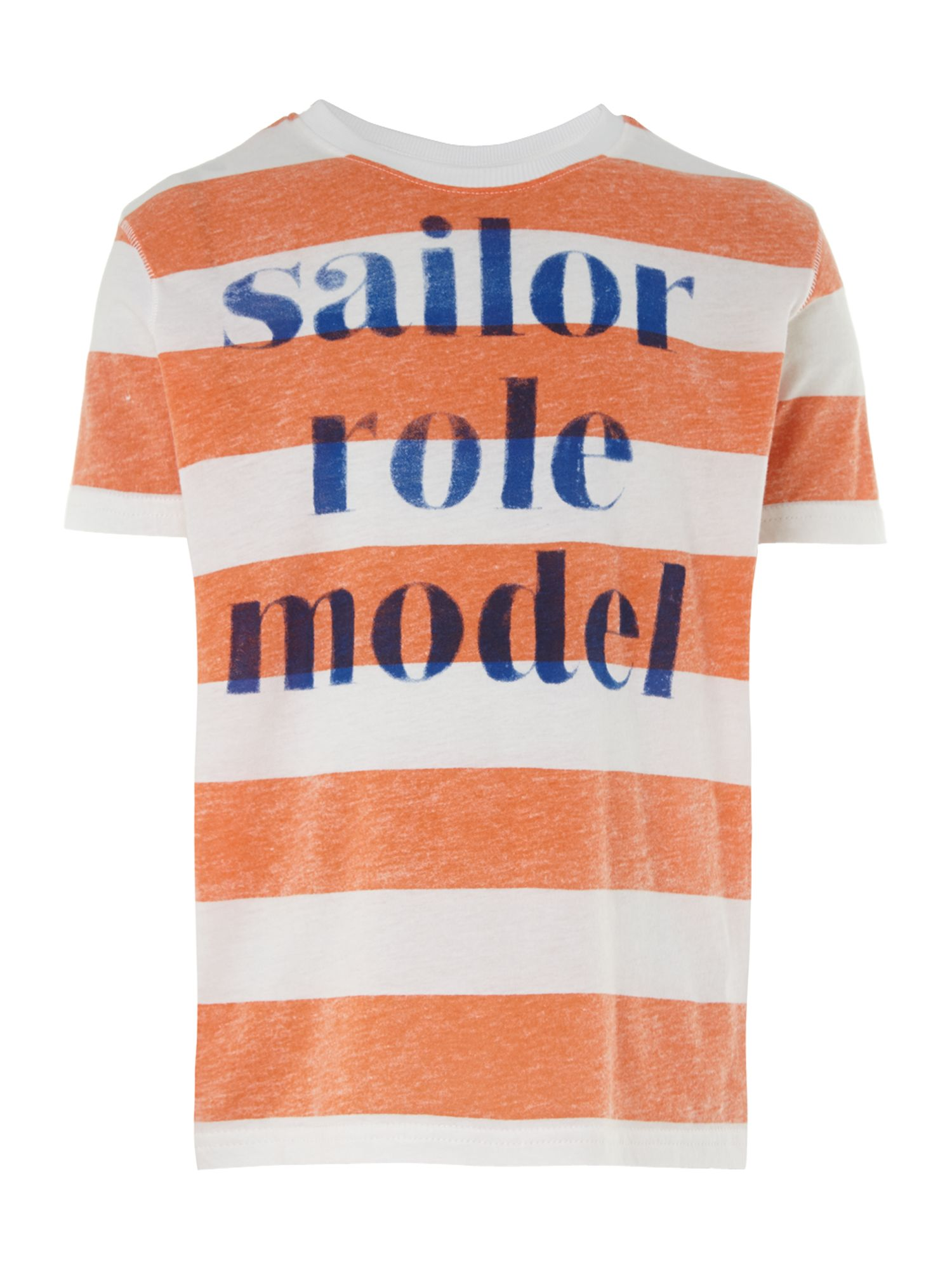 Boys stripe grand rally t-shirt