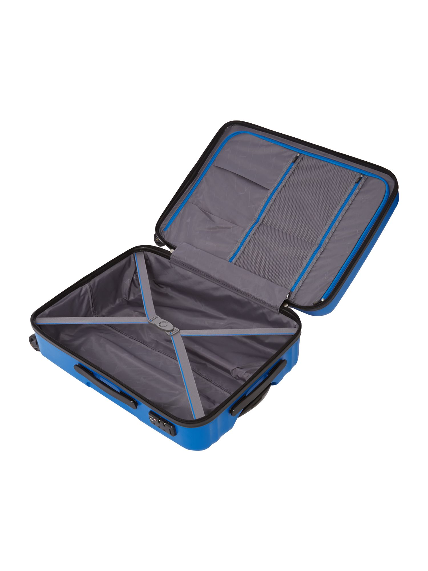 Moblite royal blue 4 wheel medium case
