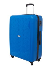 Moblite royal blue 4 wheel large case