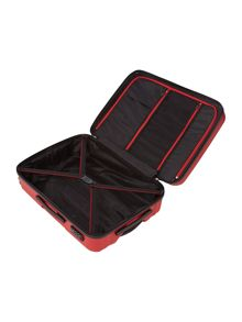 Moblite red 4 wheel medium case