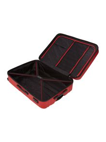 Moblite red 4 wheel large case