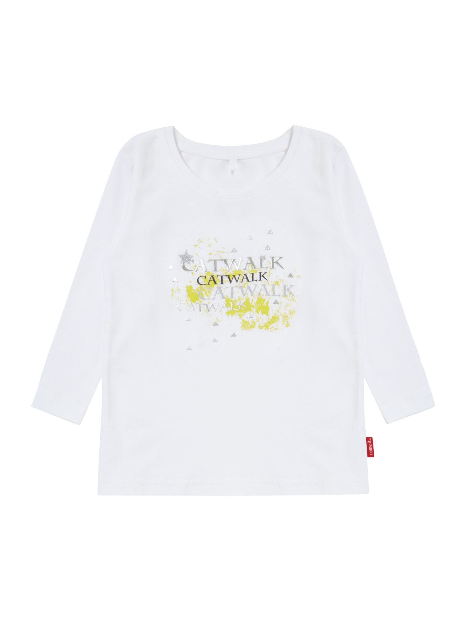 Girls catwalk graphic t-shirt