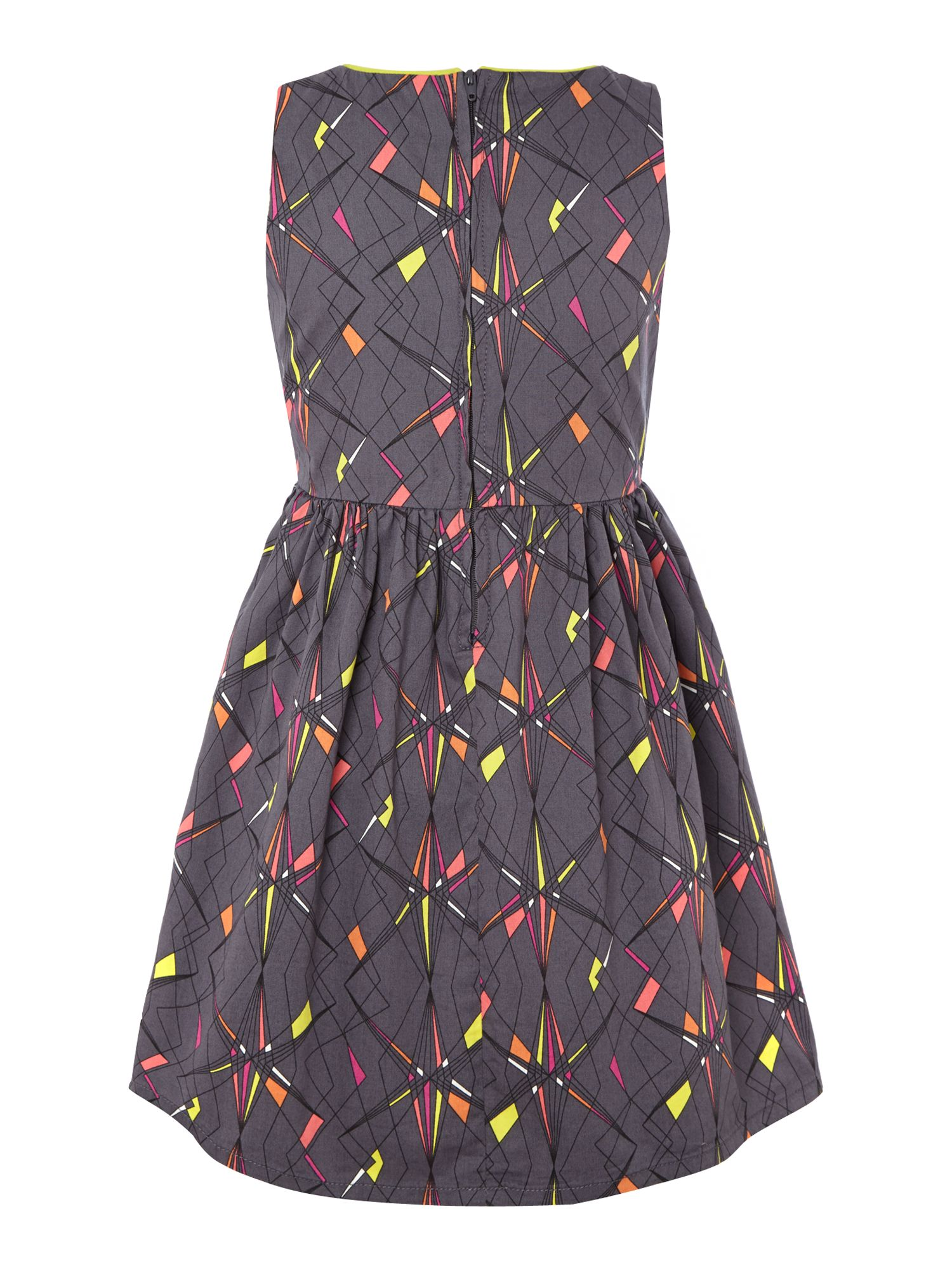 Girls graphic print dress