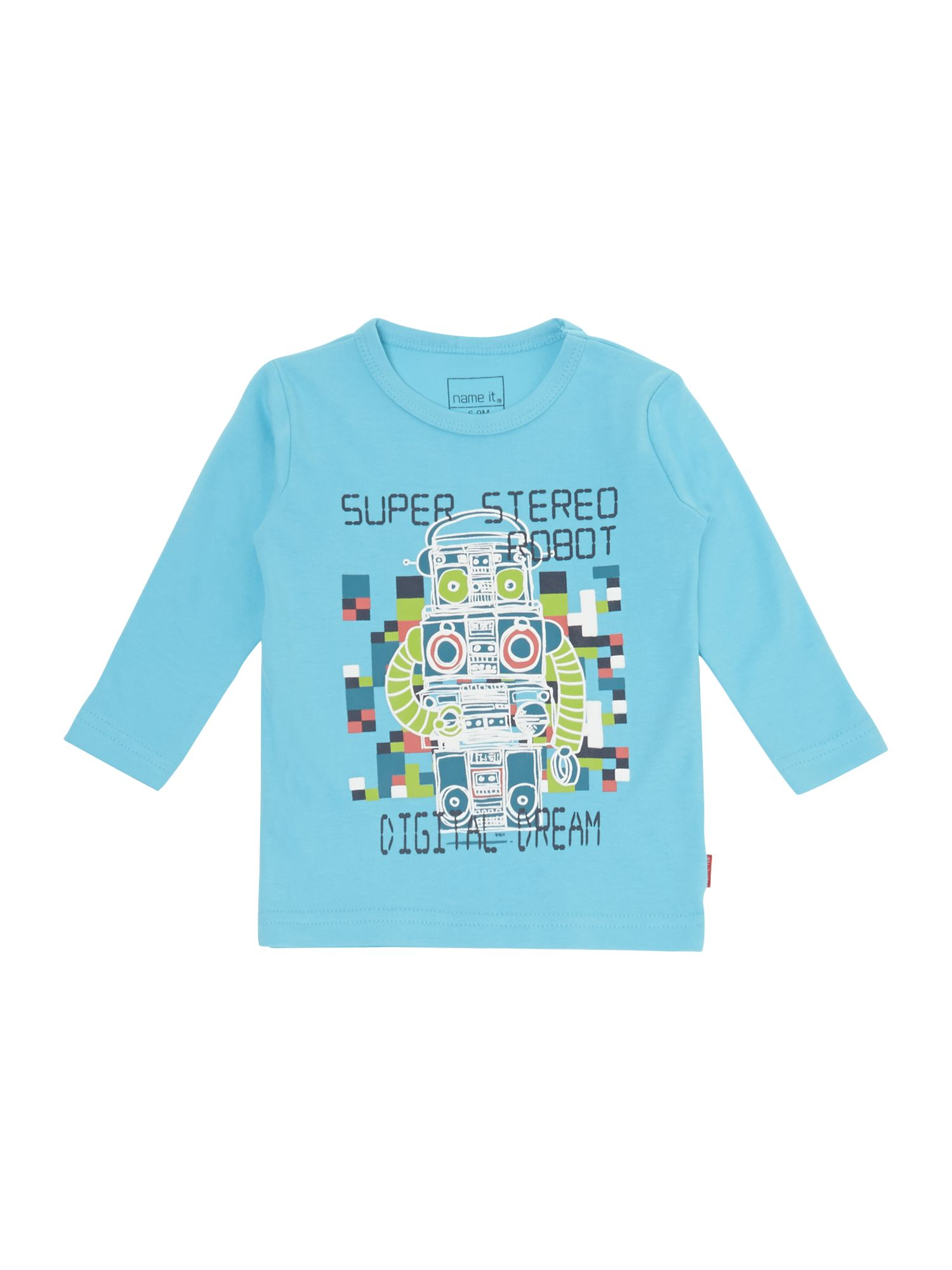 Boys robot friends t-shirt