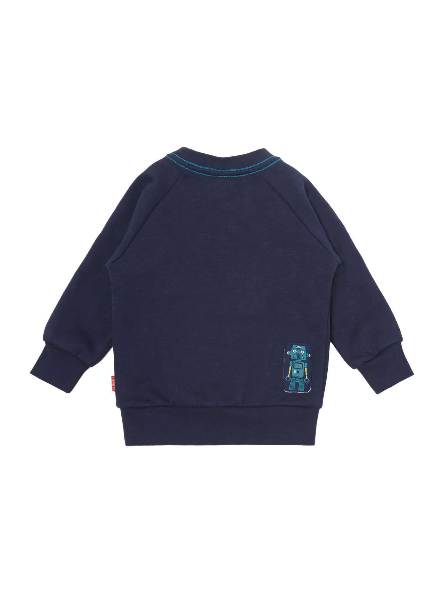 Boys robot print sweater