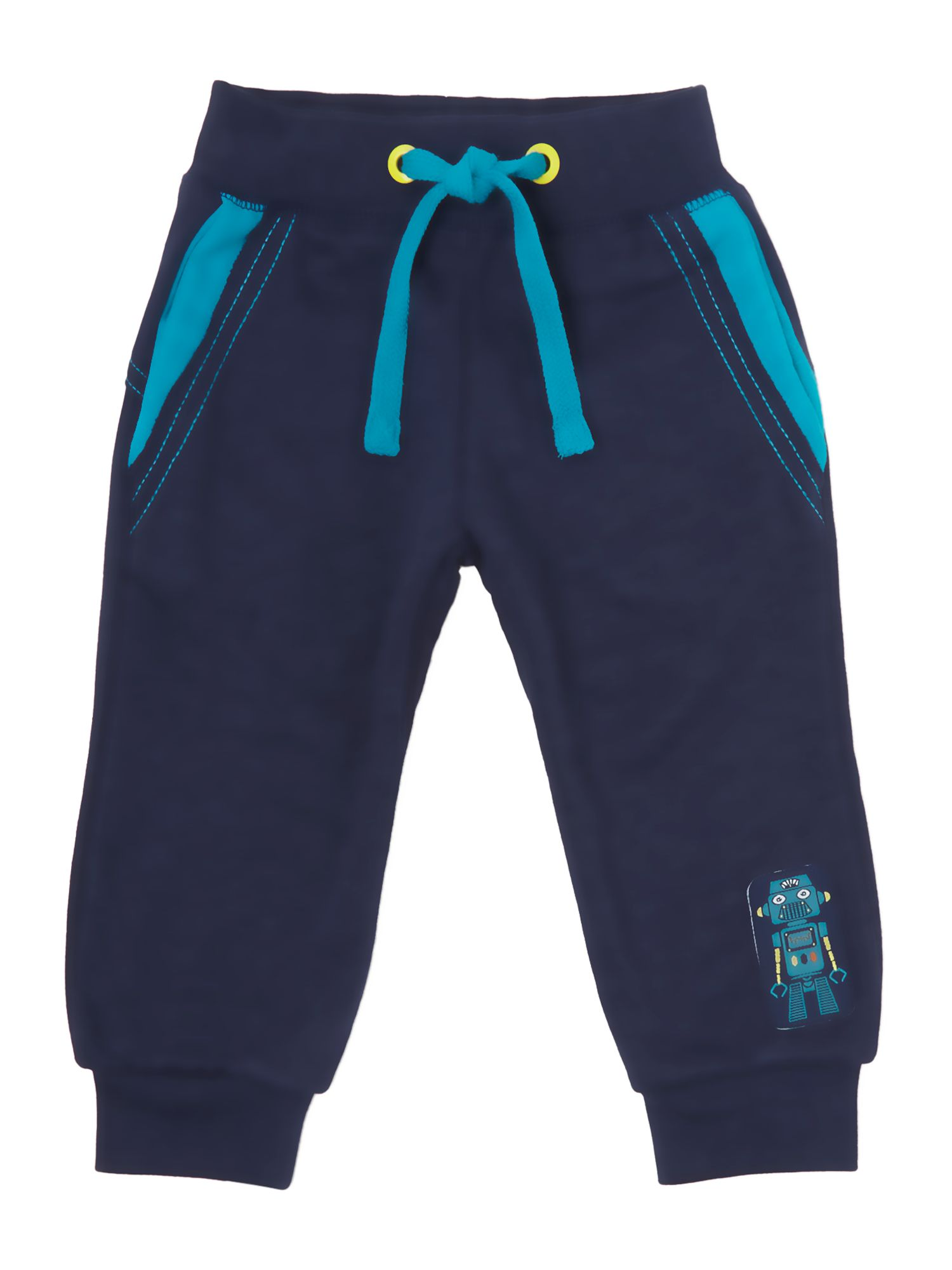 Boys robot tracksuit bottom