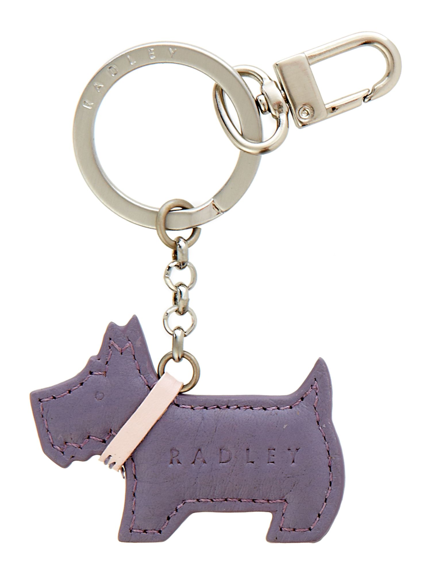 Go Walkies puple keyring