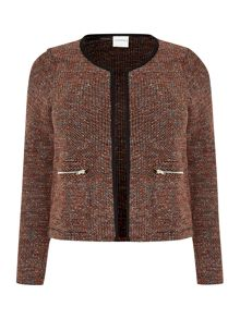 Boucle long sleeved Jacket