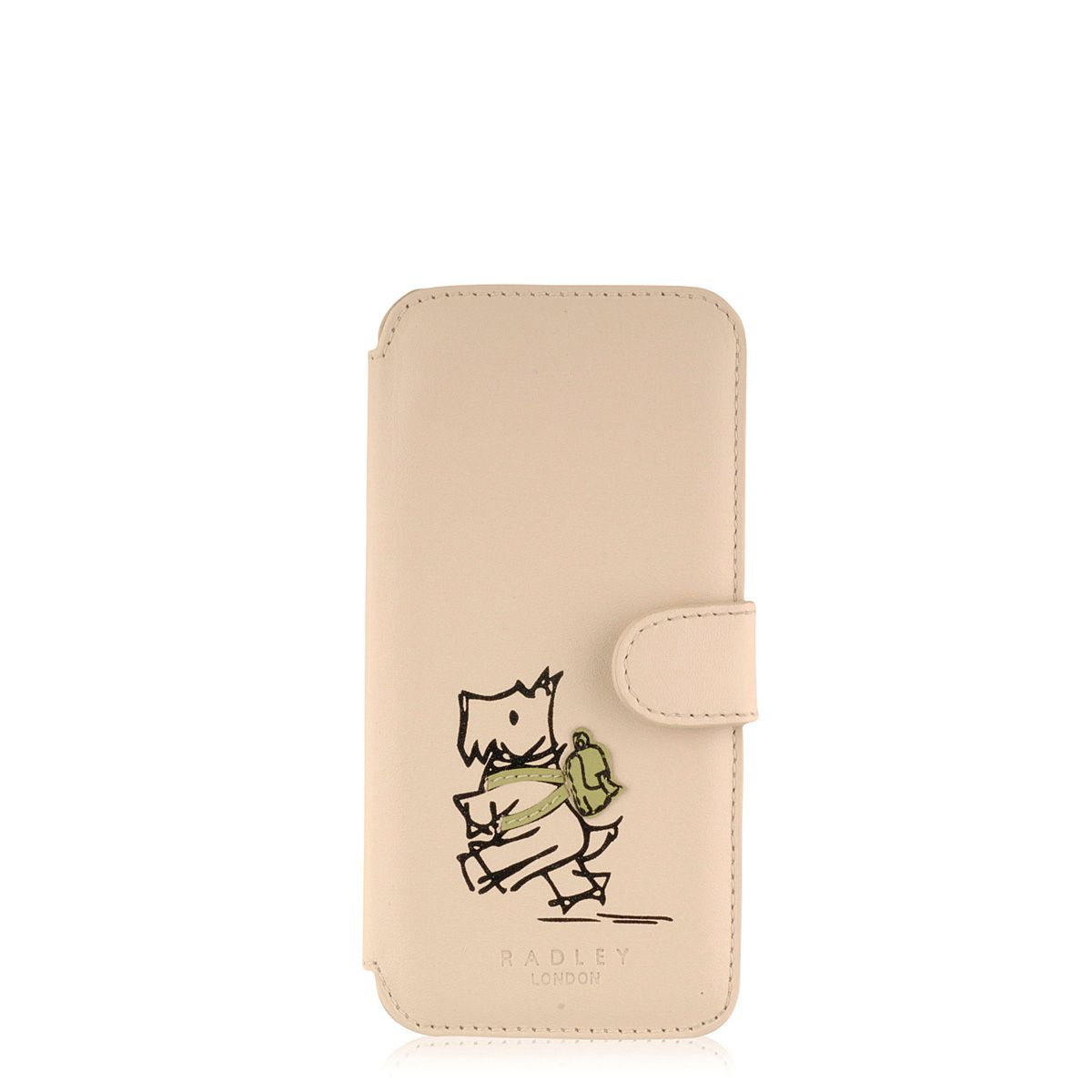 Walk the Walk cream iphone case