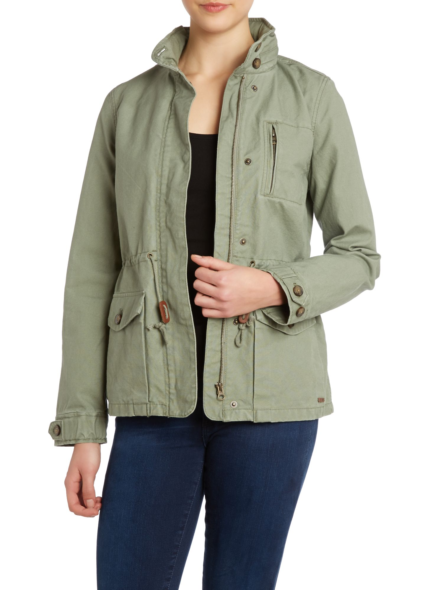 Dolman military jacket