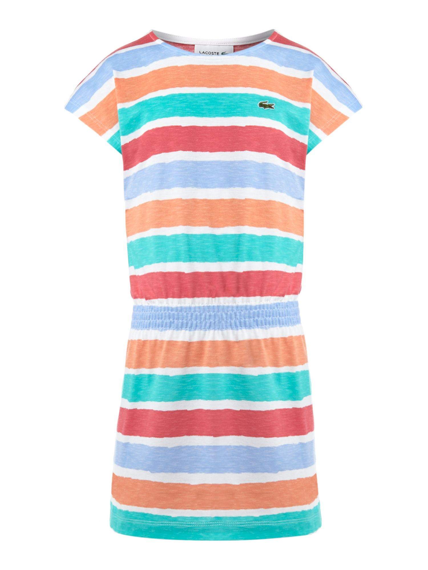 Girls multi stripe dress