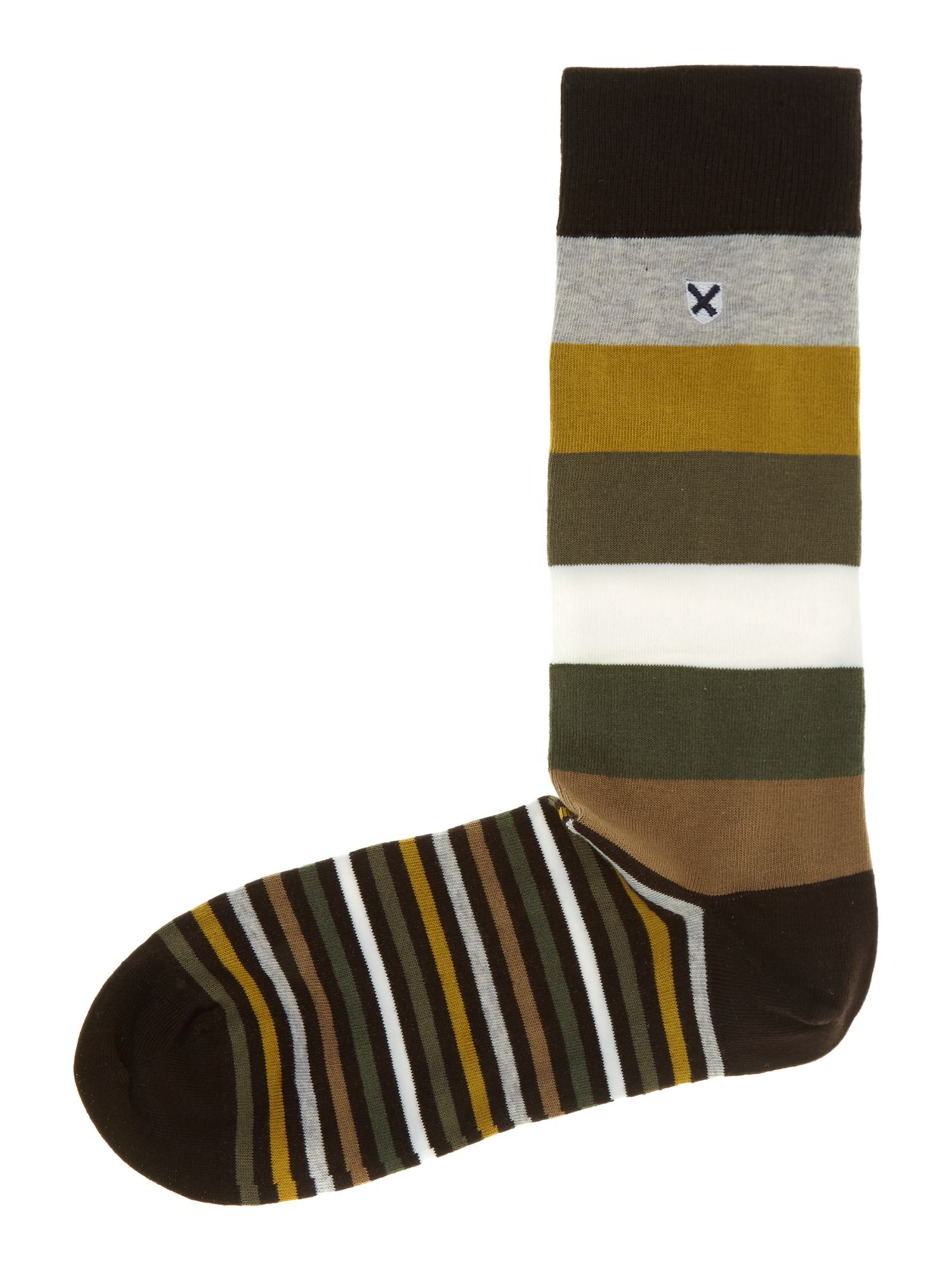 Heywood multistripe sock