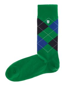 Birtley argyle sock