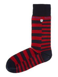 Allandale stripe sock