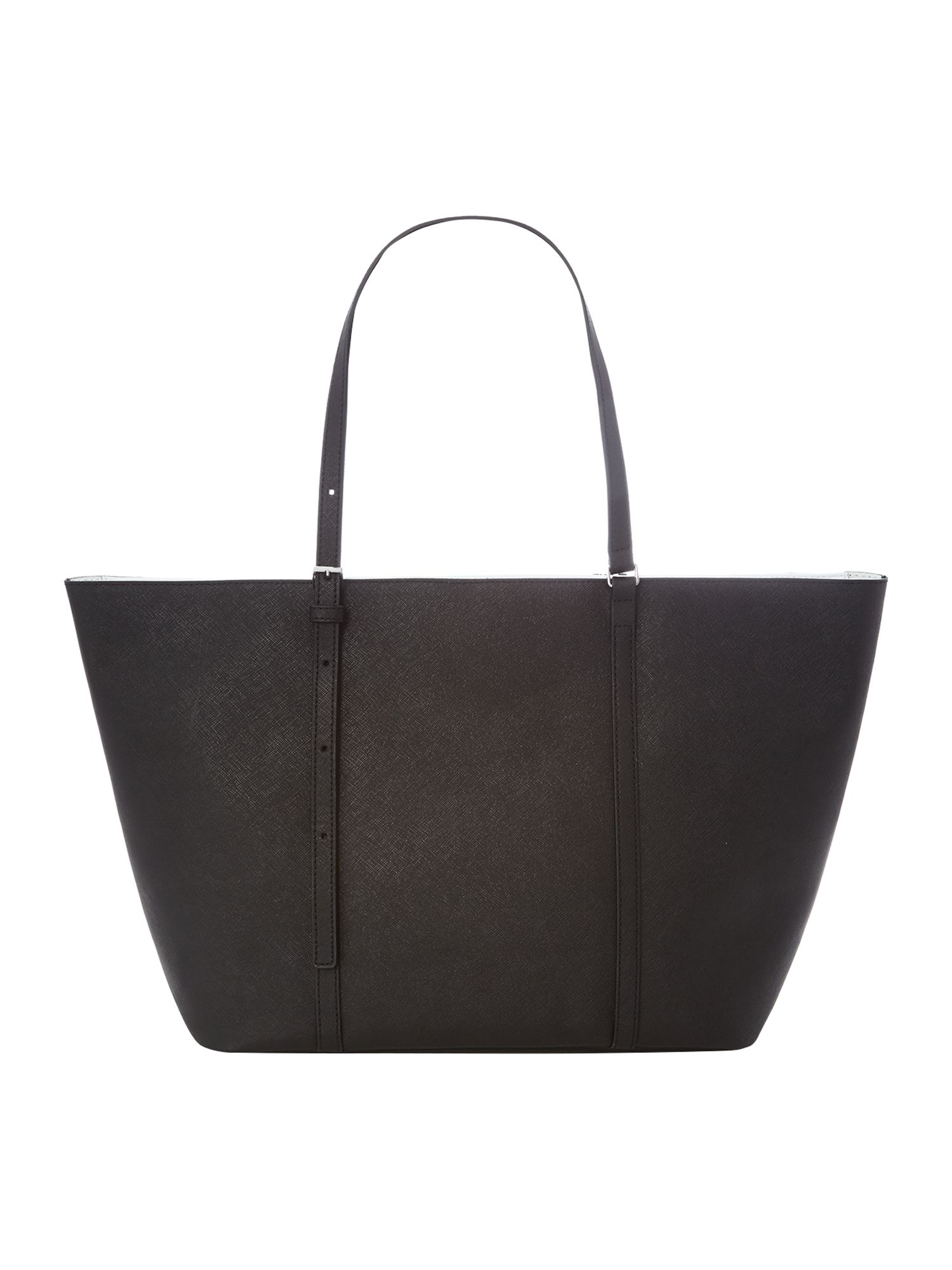Sofie black large tote bag