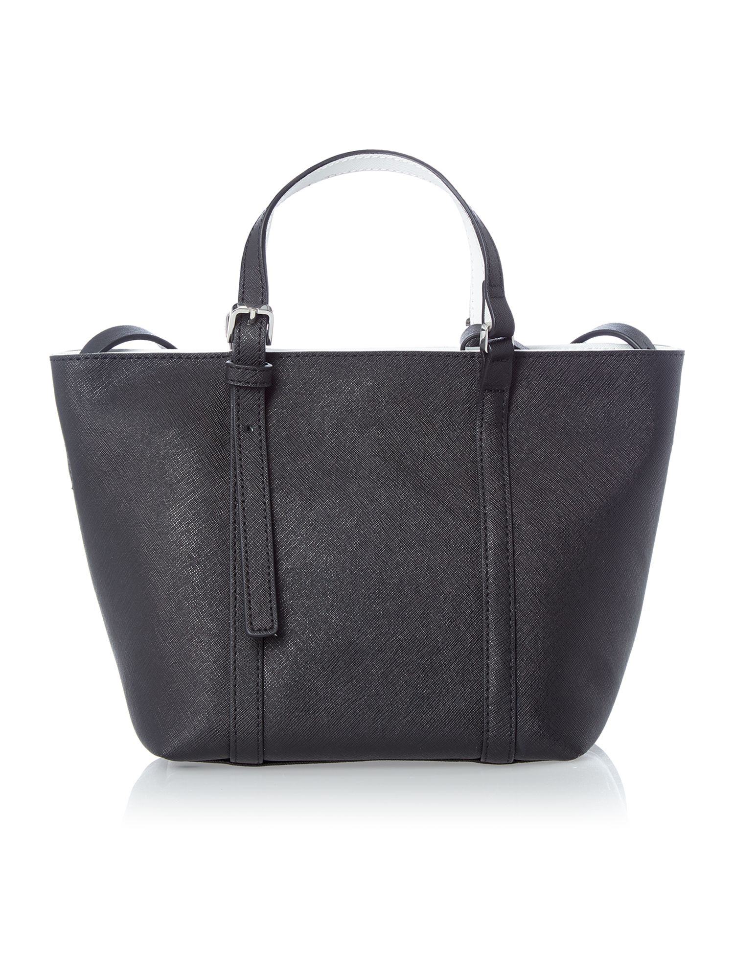 Sofie black small tote bag