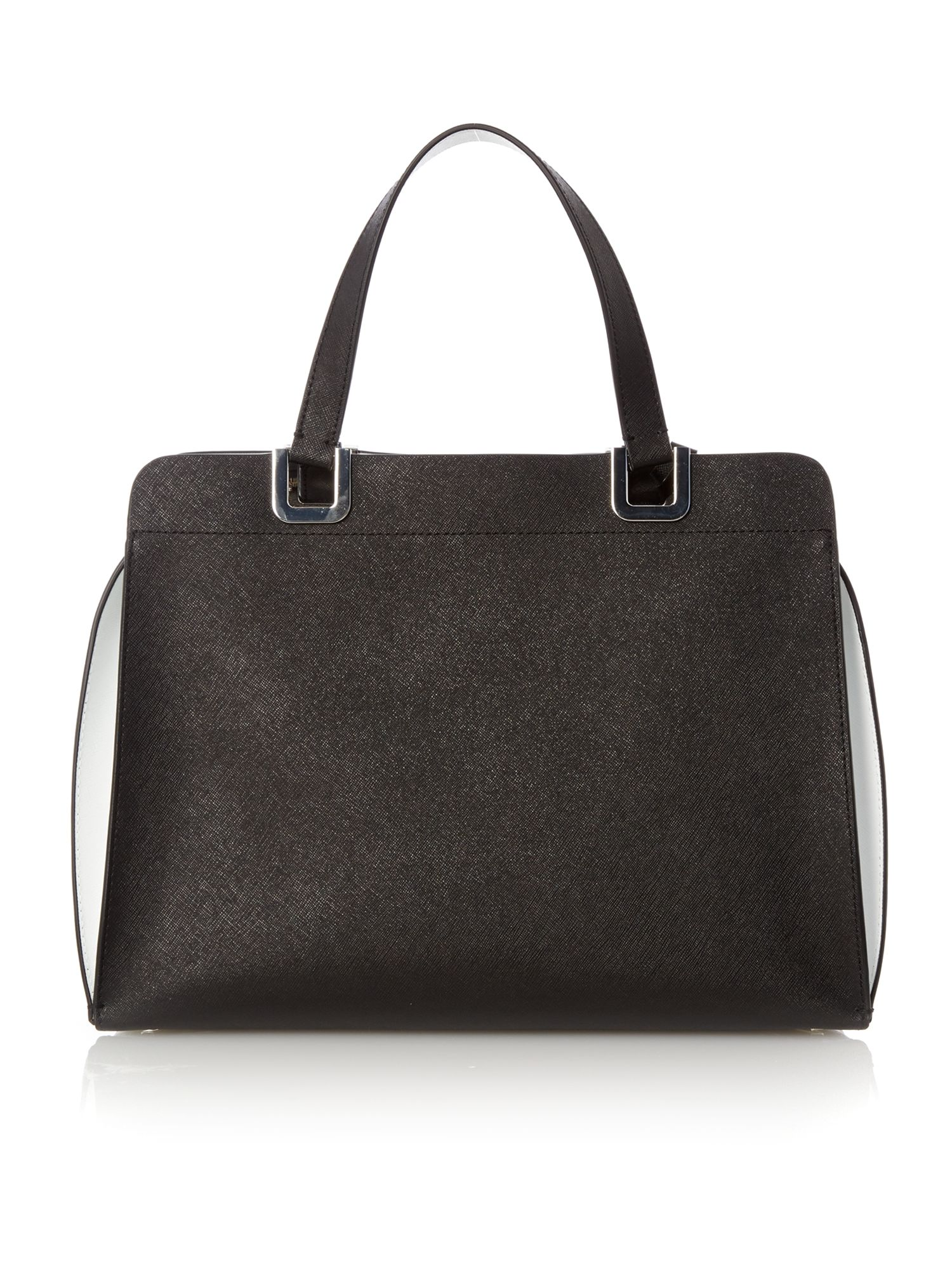 Sofie black large bowling bag