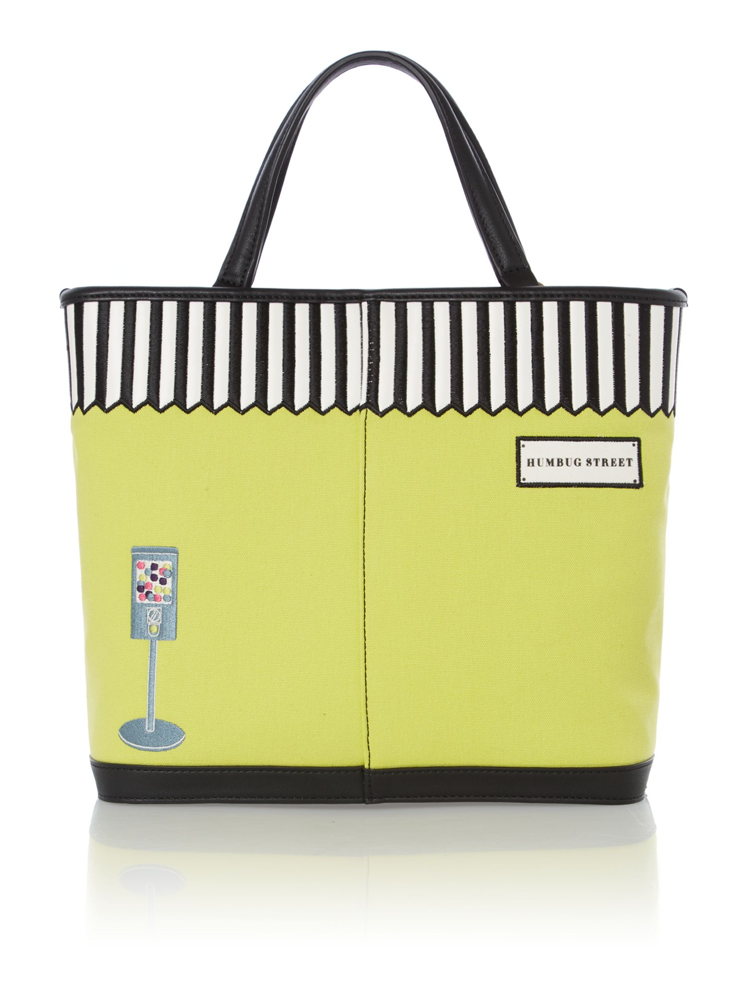 Edith multi-coloured tote bag