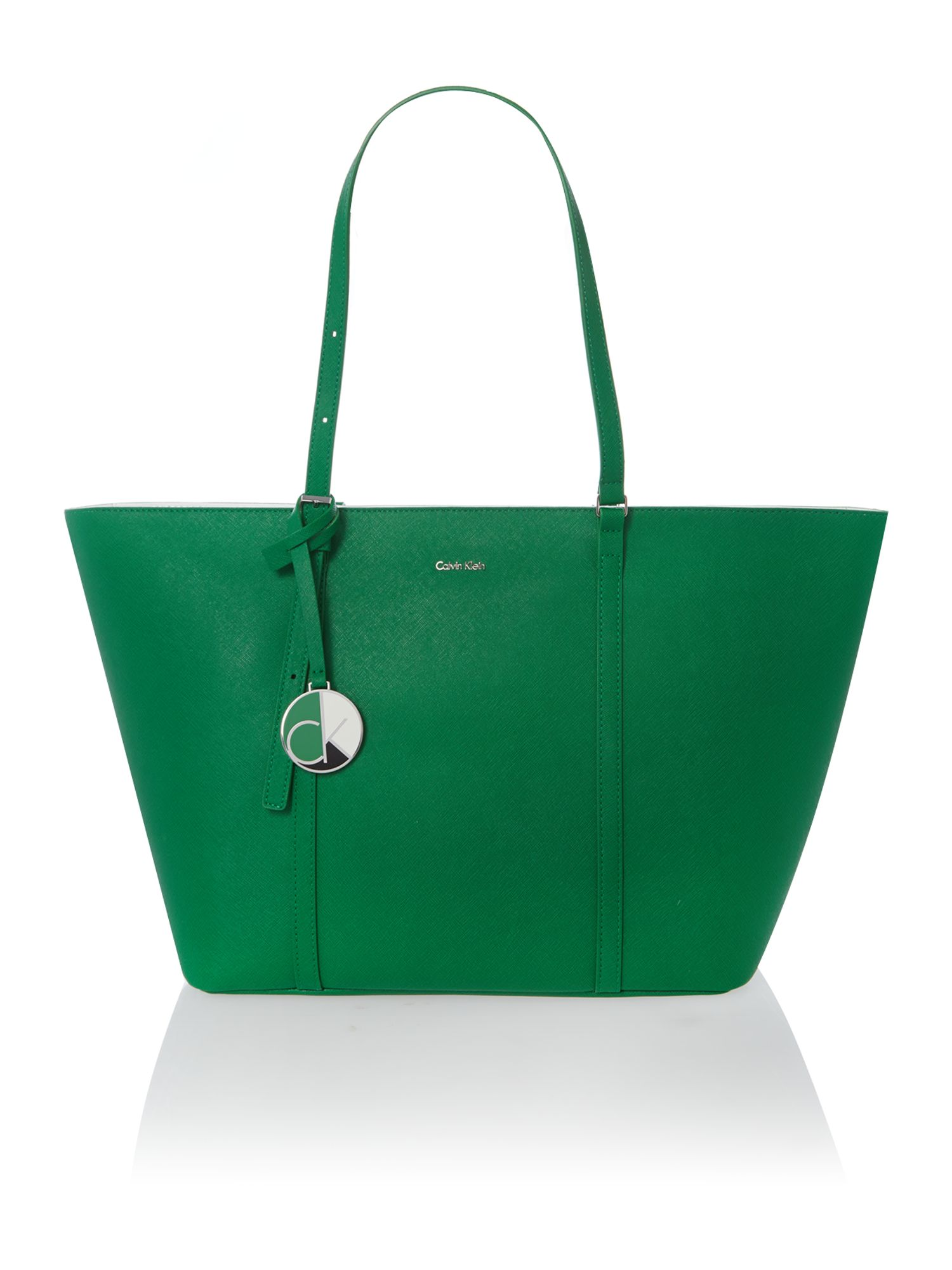 Sofie green large tote bag