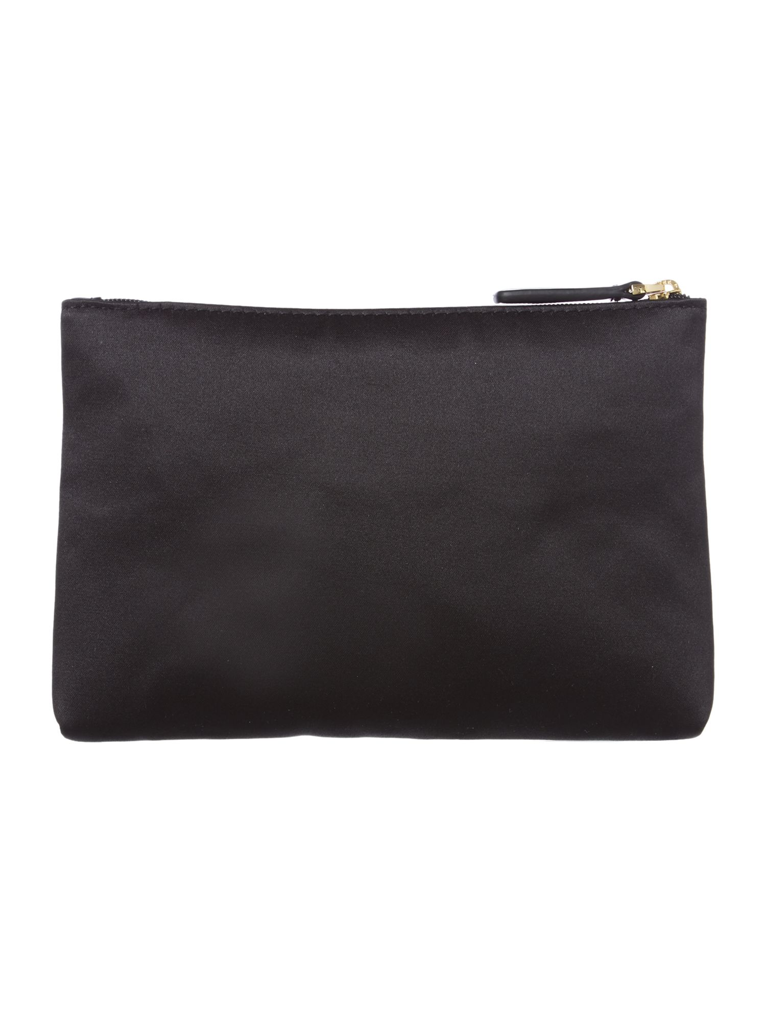 Black patent large frame purse