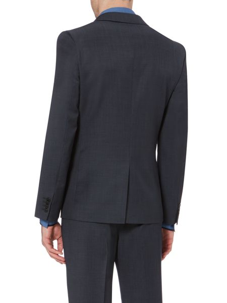 Kenneth Cole Christopher Pindot Peak Lapel Slim Suit Jacket