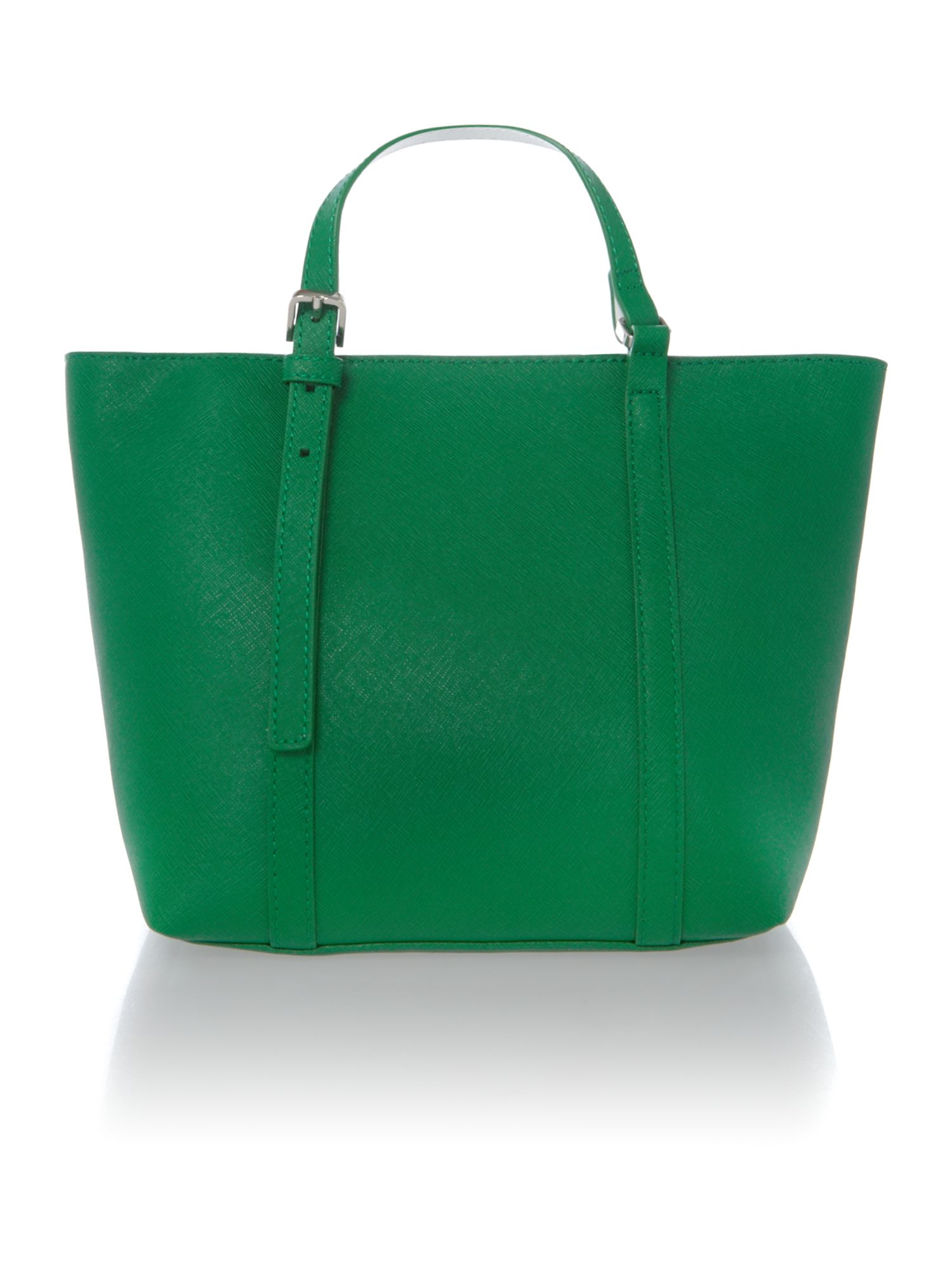 Sofie green small tote bag