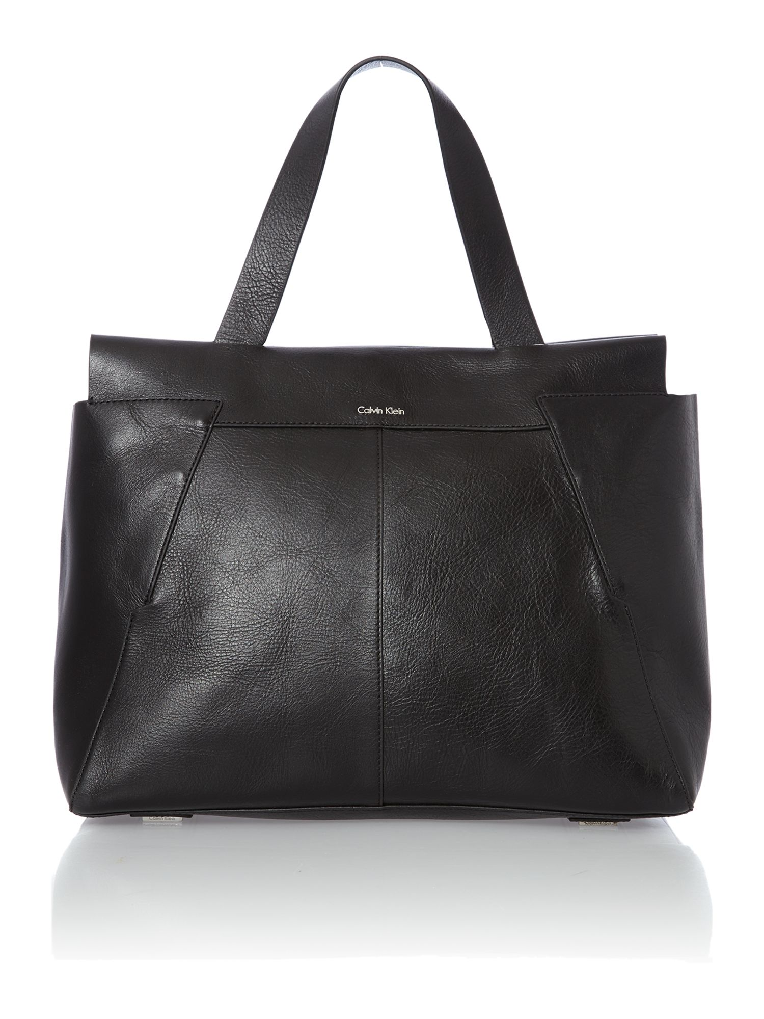 Olivia black large tote bag