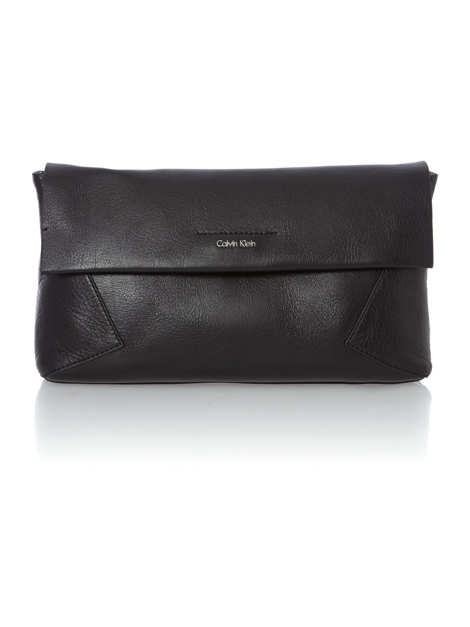 Olivia black clutch bag