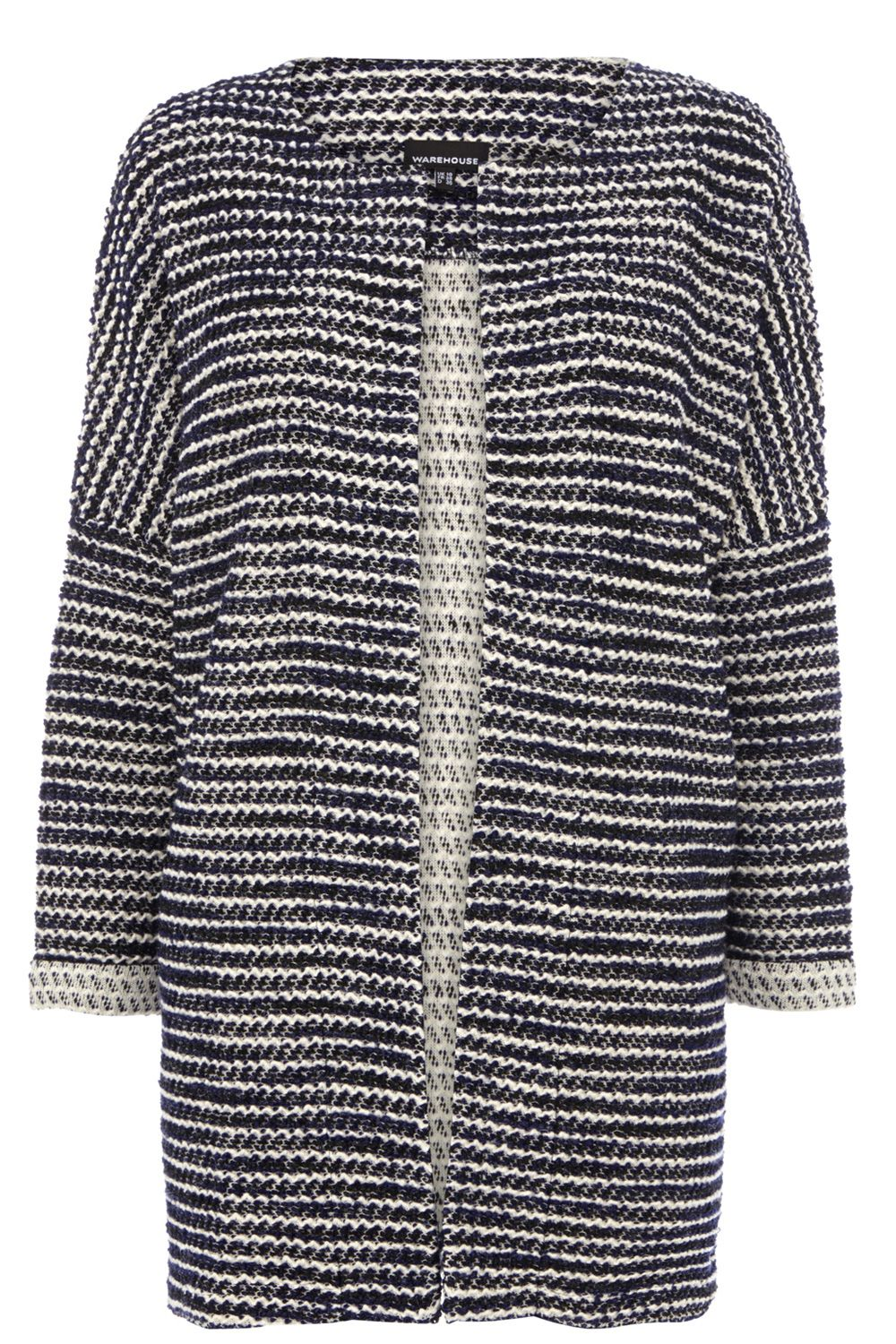 Boucle long line jacket