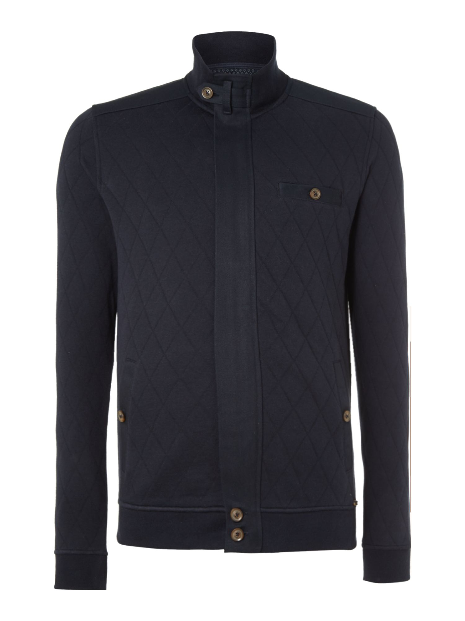 Valylow quilted jersey jacket