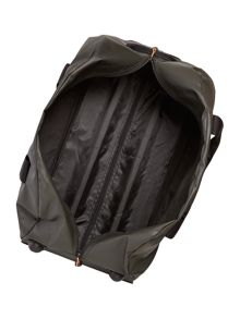 Utility khaki medium trolley duffle