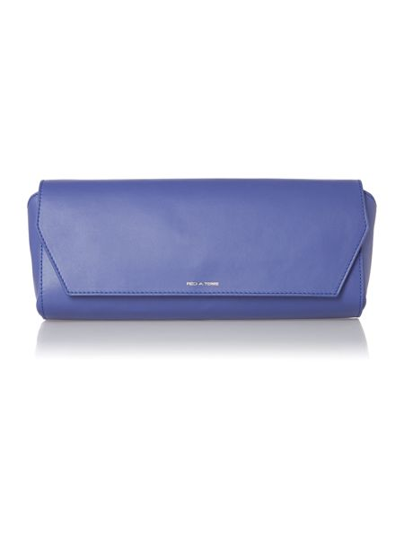 Pied a Terre Leather Zodiac flap over clutch bag