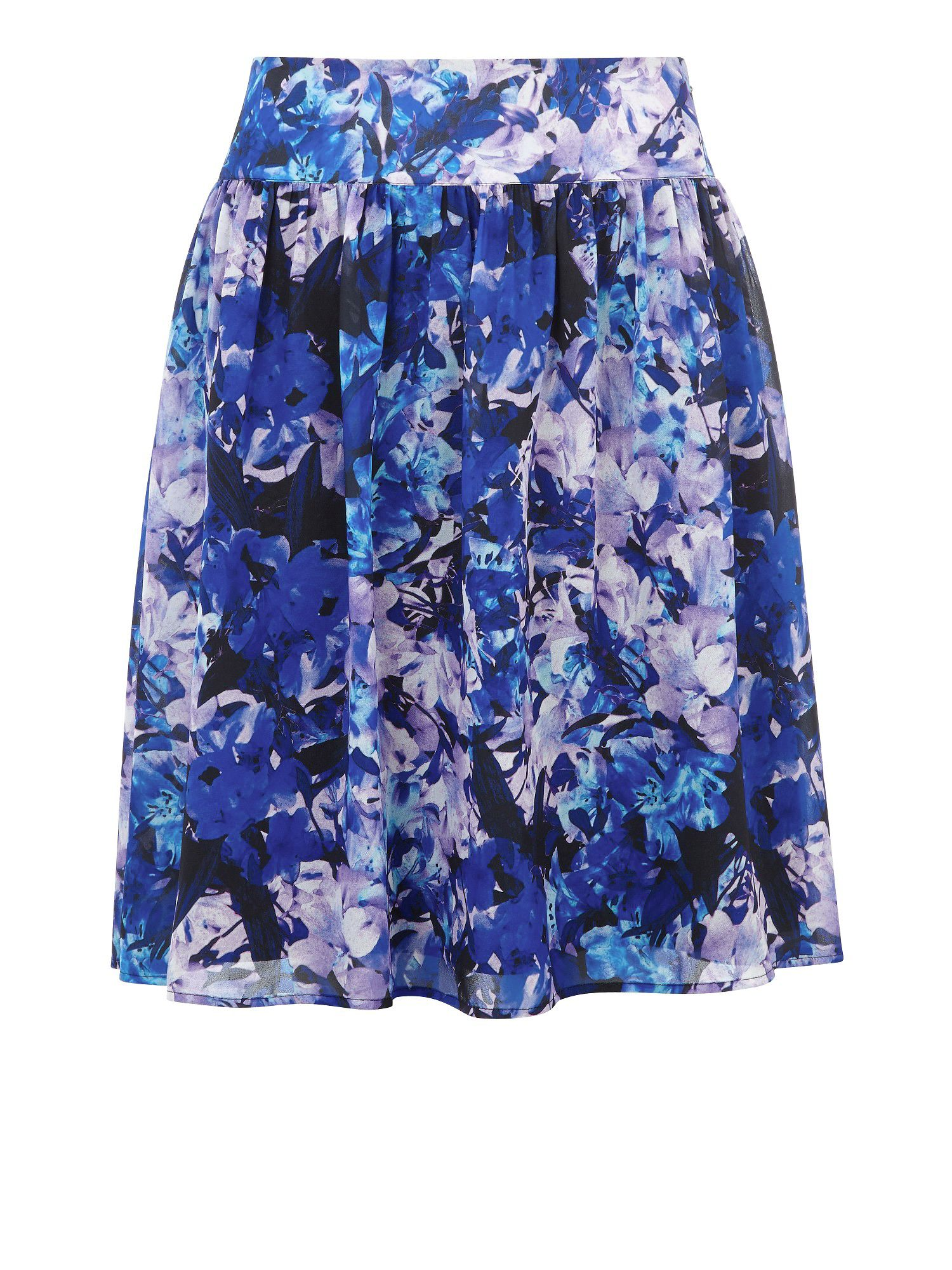Honour print full skirt