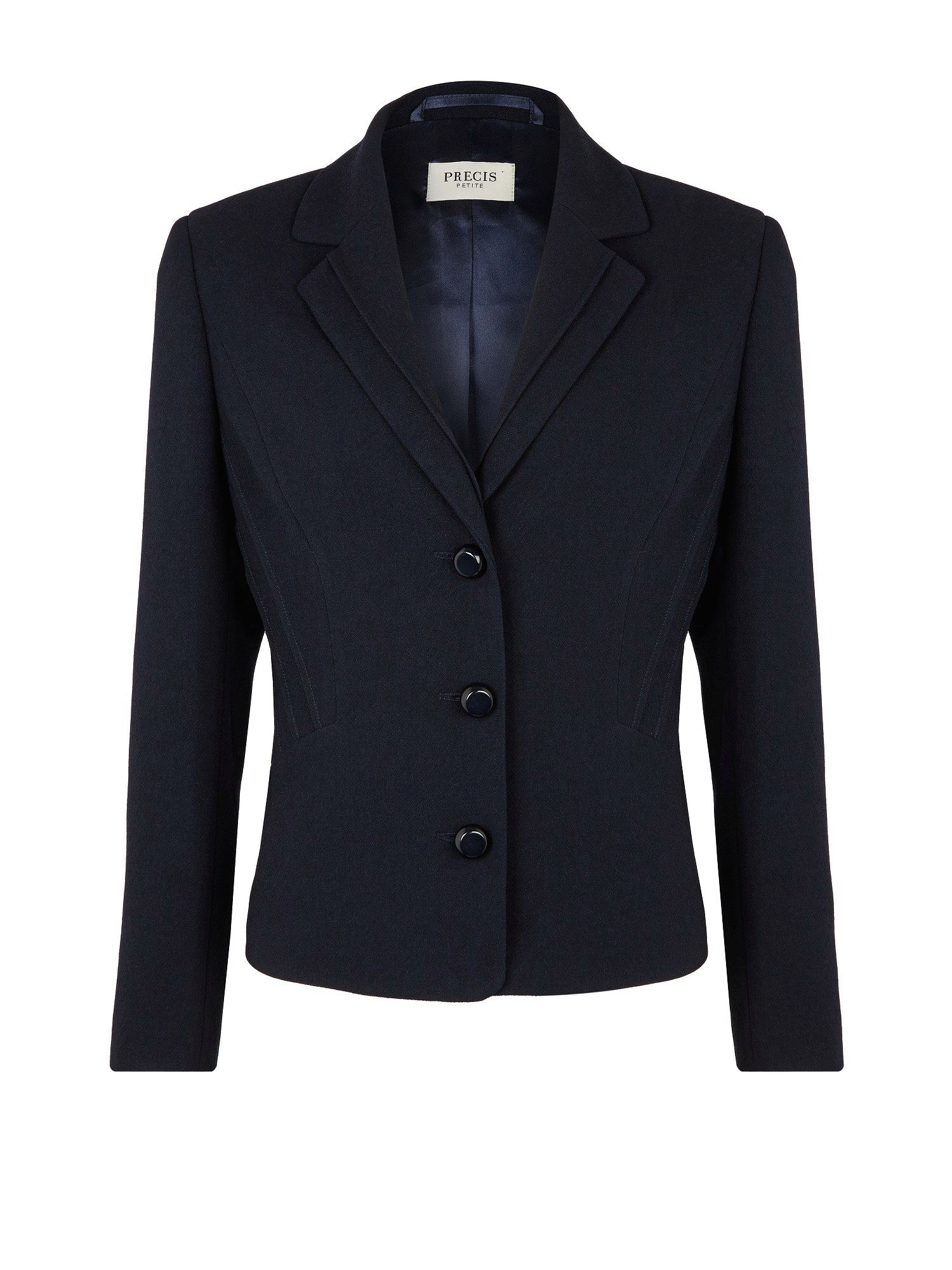 Navy textured jacket