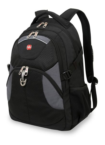 Wenger Laptop black and grey backpack