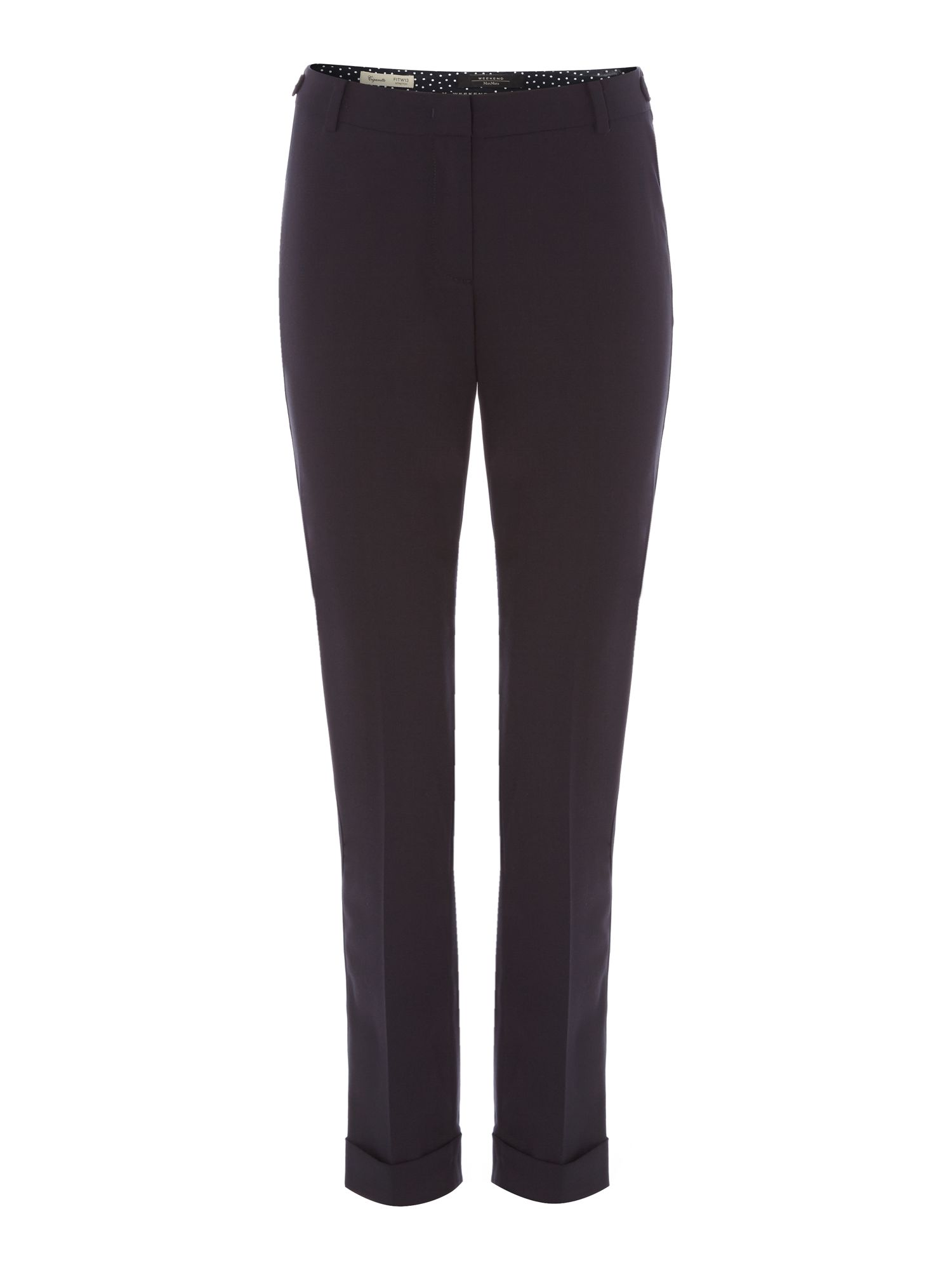 Dionea pleated wool pant
