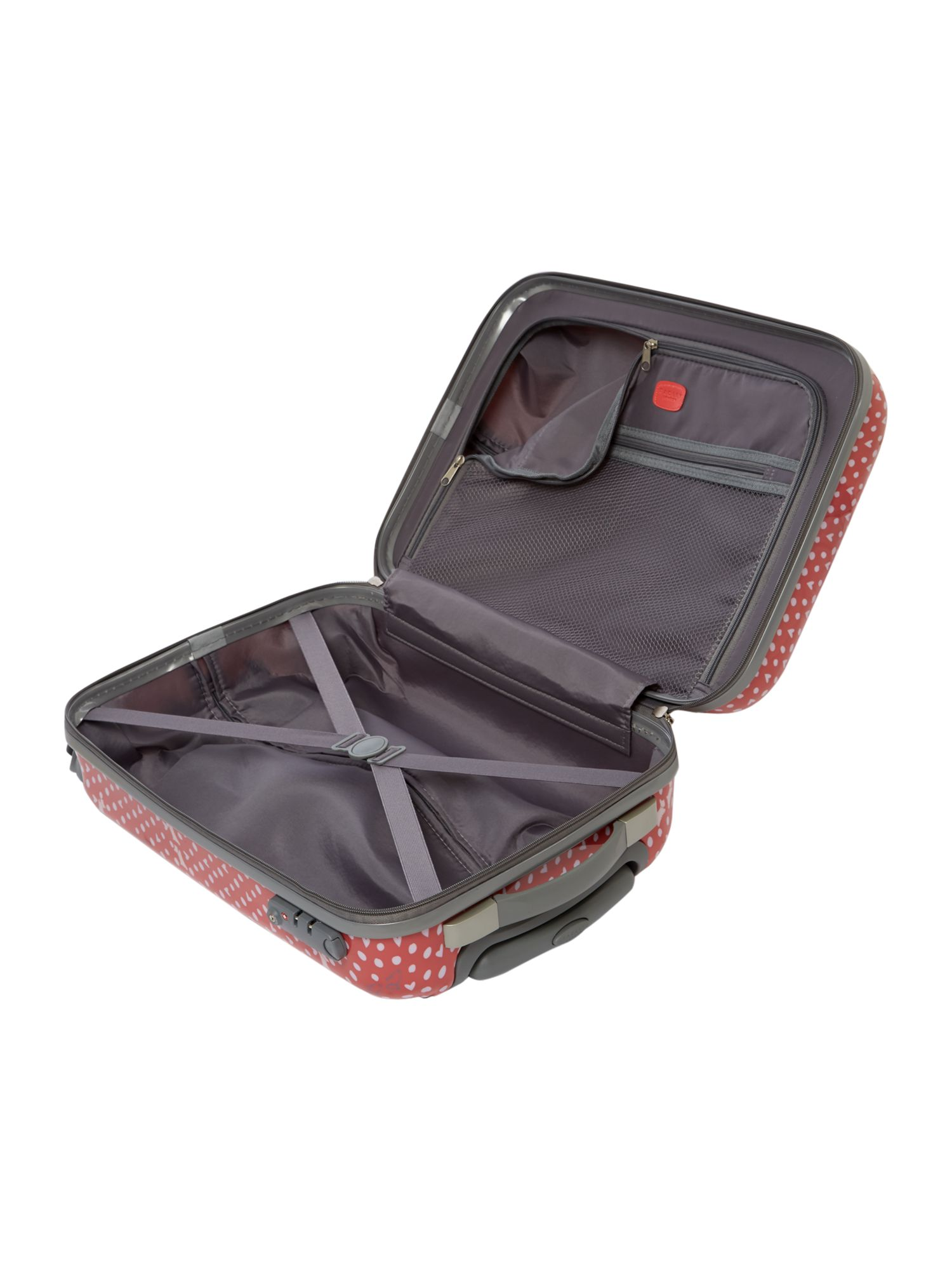Hibbert coral 4 wheel hard cabin trolley case