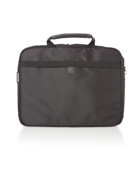 Wenger 17`` black laptop briefcase