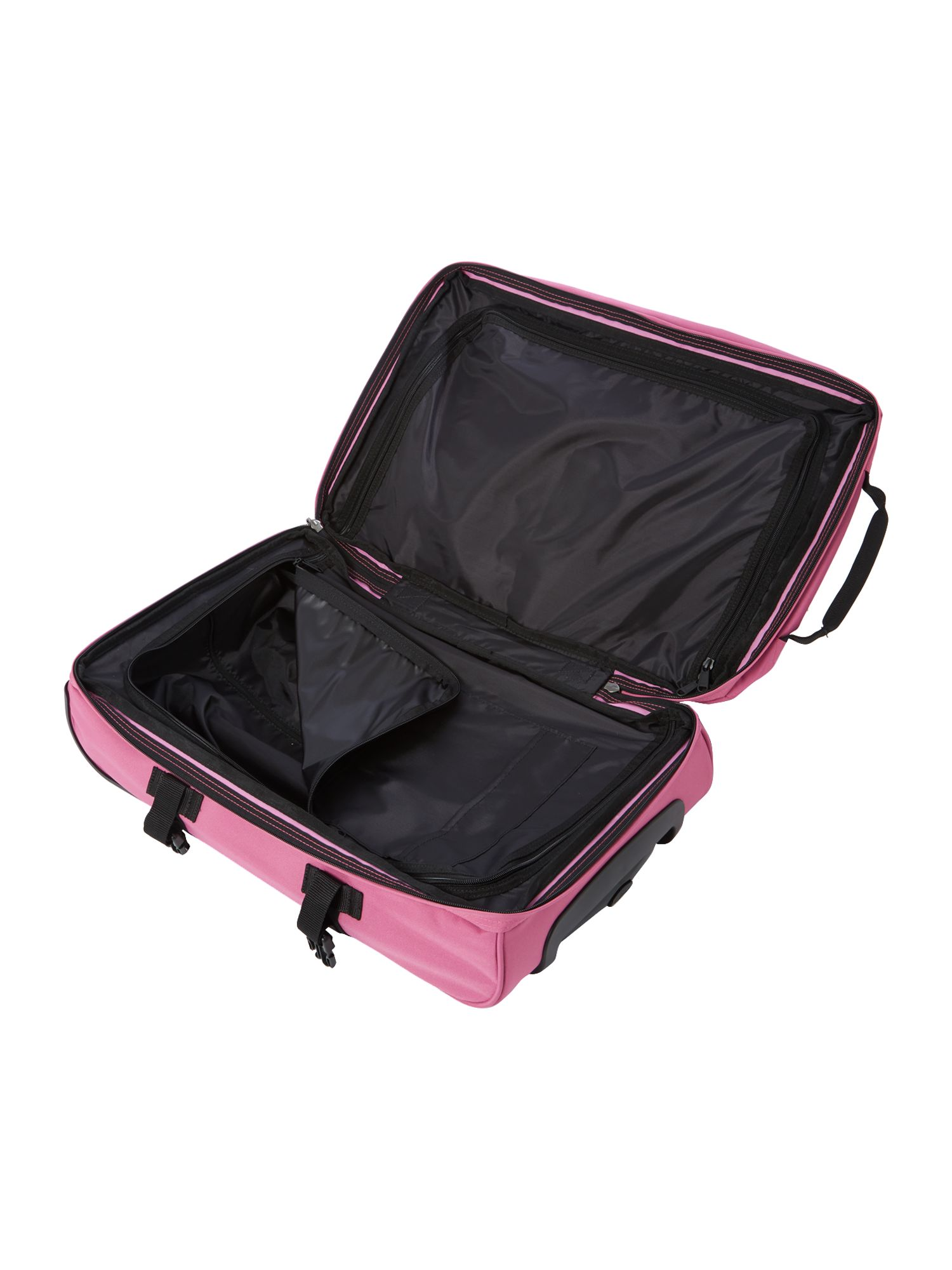 Transvers pink small trolley duffle