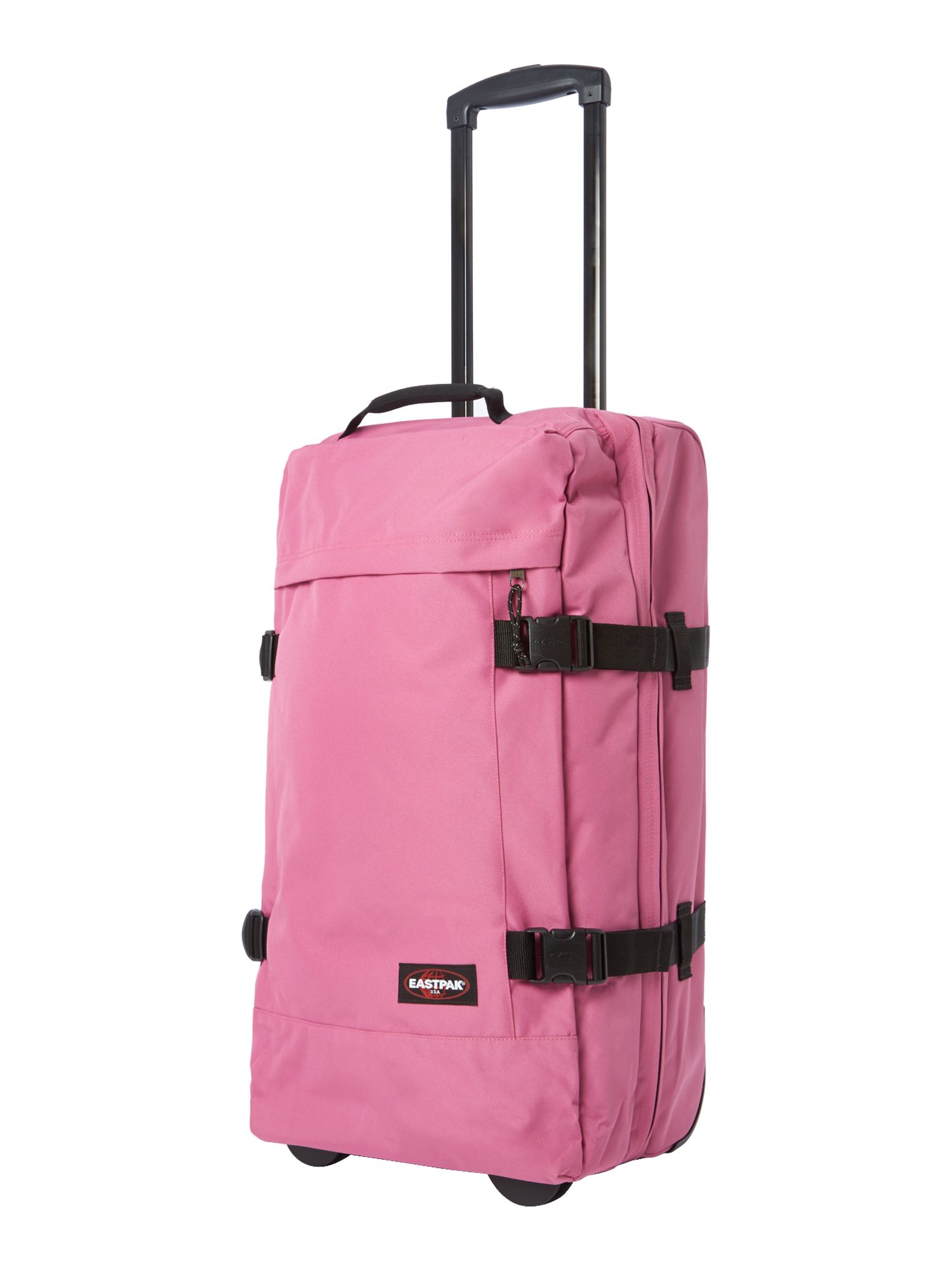 Transvers medium pink trolley duffle