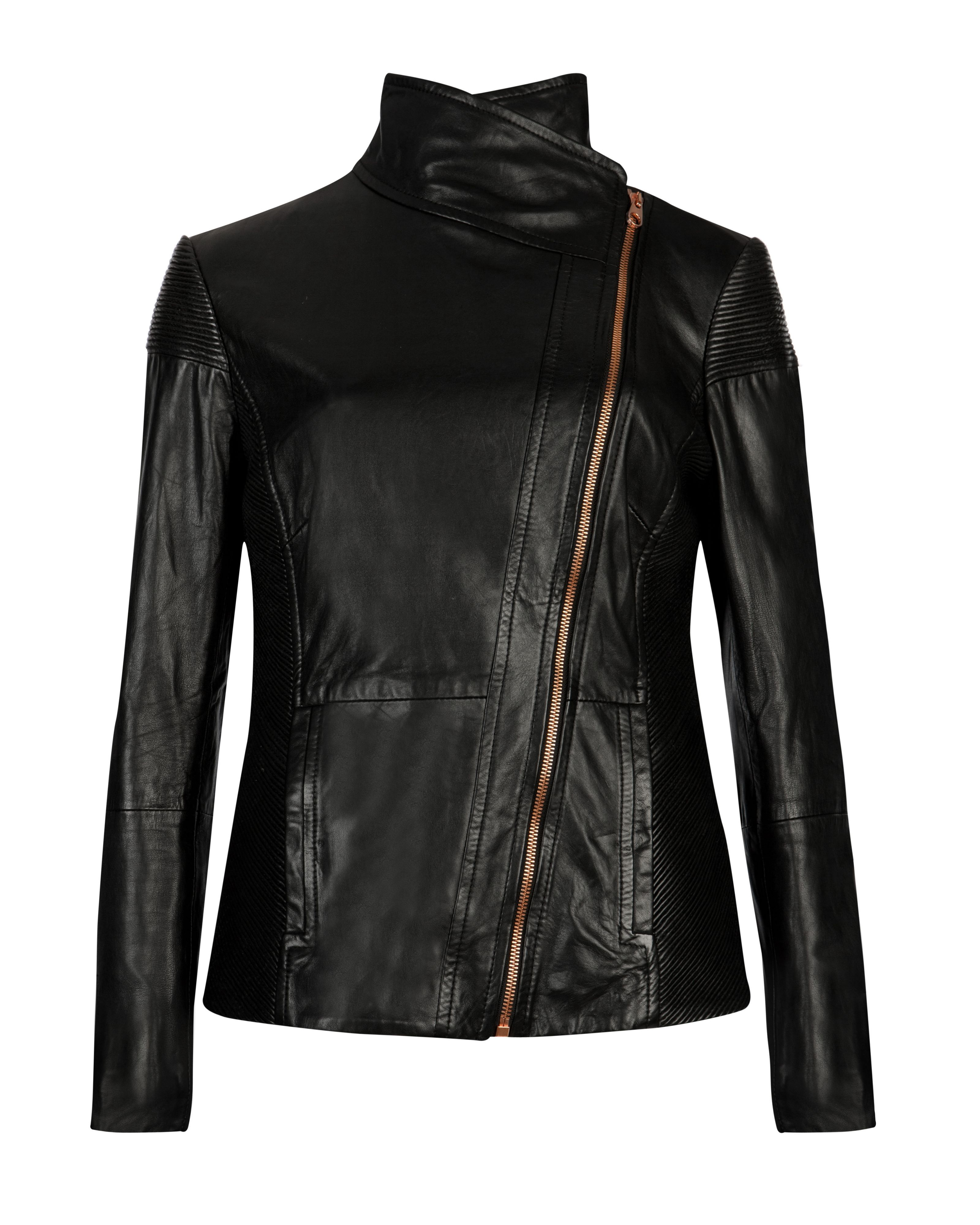 Lahara leather jacket