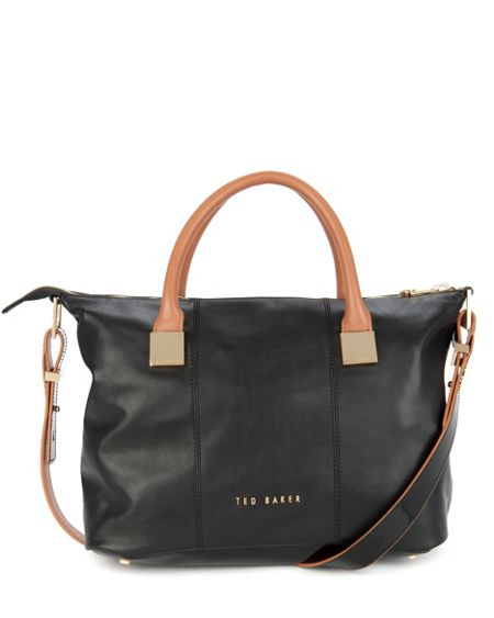 Ted Baker Frimlor metal square tote bag