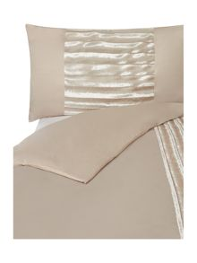 Lucette praline square pillow case