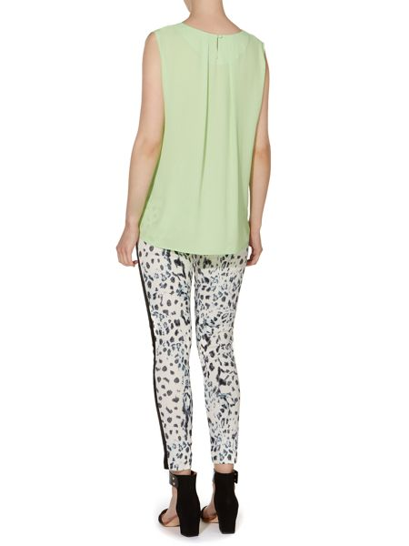 Pied a Terre Pleat Front East Woven Top